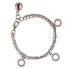 SNÖ Of Sweden - Blizz Charm Bracelet Rose Clear - 610-4800255 Ring Necklace 146f52d9b61ea