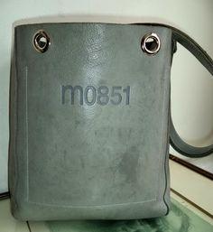 8854d2d721d Rare Rugby M0851 Bucket Bag Large Green Leather Collector Edition Shoulder  Postman Holdall Handbag Womens Vintage
