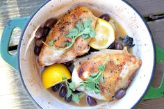 The view from Great Island: Minimal Monday: Chicken Roasted with Black Olives...OH, she's GOOD!!!