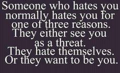 three reasons . . .