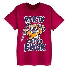 Disney child shirt - star wars - party like an ewok t-shirt for kids - star Disney Shirts For Family, Shirts For Teens, Couple Shirts, Kids Shirts, Star Wars Party Decorations, Star Wars Shop, Star Wars Kids, Star Wars Tshirt, Ewok