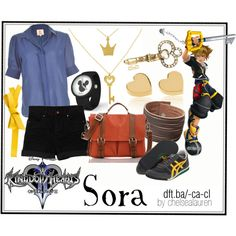"I really like all the jewelry. Plus I love the Kingdom Hearts series. :) ""Sora 