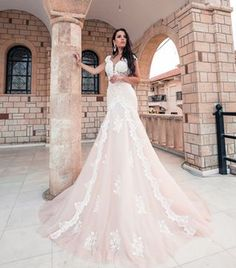 Wedding Day of Kristina&Gvido + press release Wedding Dress Train, Wedding Day, Bridal Dresses, Girls Dresses, Colorful Pictures, Mermaid, Tulle, Chiffon, Press Release