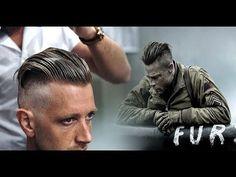 Brad Pitt Hair from FURY   Men's Undercut & Hairstyle Trend Tutorial #NEW 2017 - YouTube