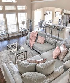 128 cozy living room decor ideas to copy 17 Glam Living Room, Living Room Decor Cozy, Living Room Interior, Home Interior, Home And Living, Interior Design, Modern Living, Small Living, Luxury Living