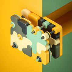 Color dialogues on Behance