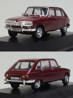 1:43 Scale Model of Renault 16. Want to see more detail pictures? Click on the image to see more.