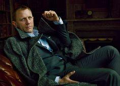 Daniel Craig by Annie Leibovitz for Vanity Fair, November 2012.