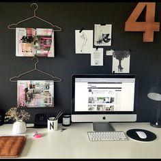 Slenger meg på utfordringen @astridvu ;) #hjemmekontorboka2012 #homeoffice #myoffice #workspace - @stylizimoblog- #webstagram