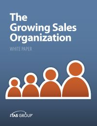Sales White Paper: The Growing Sales Organization