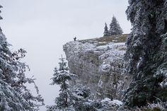 jura suisse, hiver, winter, switzerland, creux de van