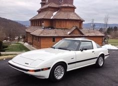 """1984 Mazda RX-7 GSL-SE 1st car I ever owned.  I'll never forget how mad my dad was, """"get that foreign piece of s##t outta my American driveway!"""" - damn I loved that car. Lol"""