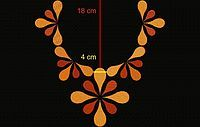 Embroidery Neck Designs, Embroidery Works, Indian Embroidery, Custom Embroidery, Embroidery Patterns, Hand Embroidery, Machine Embroidery, Neck Pattern, Free Pattern