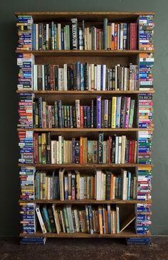 stunning bookshelves