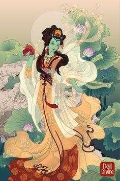Syamatara by TheSakuraDoll ~ Folk and Historical Dress Up