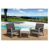 Found it at Wayfair - Atlantic Java 3 Piece Seating Group with Cushions