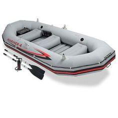 Intex Mariner 4 Inflatable Raft River Lake Dinghy Boat & Oars Set New Best Inflatable Boat, Inflatable Kayak, Dinghy Boat, Pontoon Boat, Best Fishing, Kayak Fishing, Fishing Tips, Kayaks, Fishing Boots