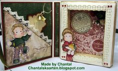 Cards made by Chantal: Christmas book card