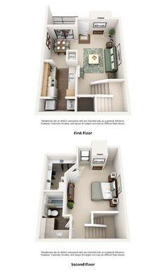 Prime 52 Best Apartments Images In 2019 Two Bedroom Floor Plan Download Free Architecture Designs Intelgarnamadebymaigaardcom