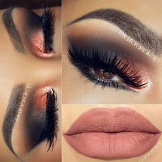 Blackout smokey eyes from Eye Makeup Tips, Smokey Eye Makeup, Diy Makeup, Makeup Inspo, Beauty Makeup, Makeup Ideas, Flawless Makeup, Prom Makeup, Makeup Tutorials