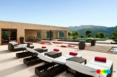 Outdoor / Gardening:Create Outdoor Lounge With Sunken Seating Area Ideas Build Conversation Pits Sunken Sitting Areas In Pool Garden Outside Decor Design Sunken Seating Space That Is Less Dramatic And Minimal Elevate The Style Quotient Of Your Outdoor Lounge With Sunken Seating Area