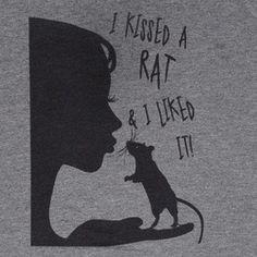 #kiss a #rat