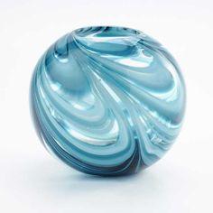 Blue Vase Glass 180-9104