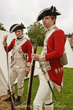 British uniform during the American War of Independence ...