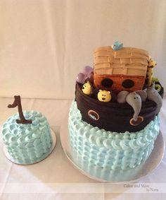 Noah's Ark First Birthday Cake (s)