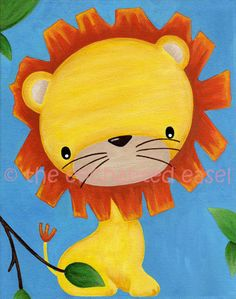 adorable little kids paintings!