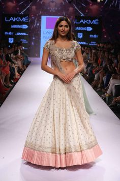 Anushree Reddy at Lakme Fashion Week Summer Resort 2015