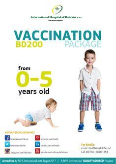 Get your child vaccinated... Give us a call now at 1759 8222.  #ihb #bahrain #hospitalbahrain #vaccination #immunization#virus #flu #paediatrics
