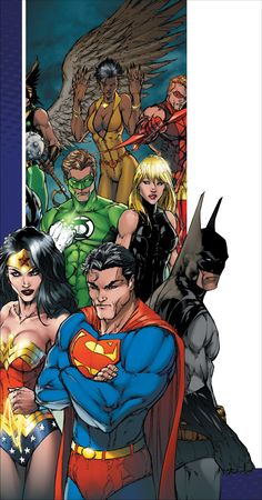JUSTICE LEAGUE OF AMERICA by Michael Layne Turner