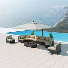 merax outdoor 3 pcs patio furniture table chair set with cushion