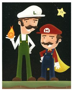 Super Mario Bros. Nintendo The Brothers Mario video game by TimmyK