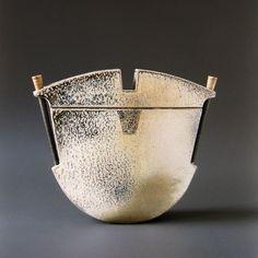 Aage Birck | Lidded jar with bobbins