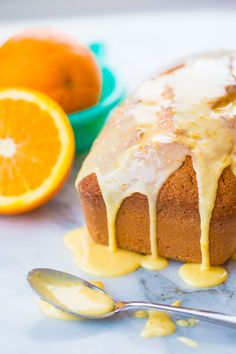 How to Make an Orange Icing Glaze for your cakes, sweet breads, cupcakes and more! It's so simple and easy - and orange is SO under loved when it comes to baking!