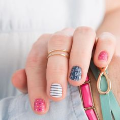 Feeling like a today! What combo is your fave this week? by jamberry Fun Nails, Pretty Nails, Jamberry Combinations, Plain Nails, Jamberry Nail Wraps, Jamberry Style, Short Nail Designs, Color Street Nails, Nail Swag