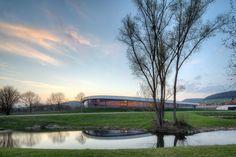 Gallery of Speed Skating Arena Geisingen / SYRA_Schoyerer Architekten - 1