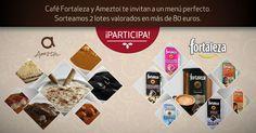 Participa en el #Sorteo de 2 lotes de productos Café Fortaleza y Ameztoi valorados en más de 80 euros. ¡Disfruta de este doble placer!