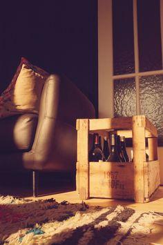 living room, wood floors, wine, 50s, retro, vintage design