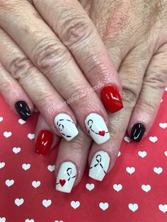 481 Best Valentines Day Nail Art Images On Pinterest Nail Art