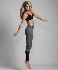 Layer over Prima's performance leggings for an edgy look during you warm-up. And to really turn up the heat, make sure to introduce these sweats to your highest heels.