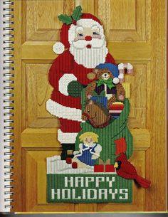 Santa Door Hanger 2/6