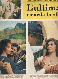 Pagine Pages Gina Lollobrigida Settimanaincom1958 COD 26958 | eBay