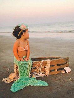 Crochet sirenita