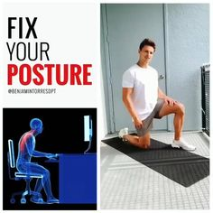 Perform this posture to get relief in your #backpain #backpainrelief #backpainexercise #backpainrelief Quad Exercises, Foam Roller Exercises, Best Butt Lifting Exercises, Lower Back Exercises, Balance Exercises, Full Body Workouts, Ab Workouts, Butt Workout, Workout Videos