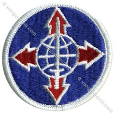 Army Patch: Total Army Personnel Command - color