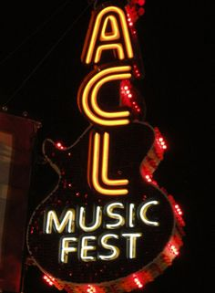 ACL in Austin, Texas.  Now featuring TWO weekends of music, fun, and craziness!