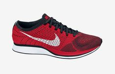5d384bd12ce Nike Flyknit Racer University Red Under Retail